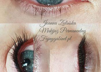 Fajnygabinet.pl - makijaż permanentny kreska zageszczajaca linię rzęs