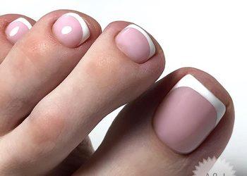 A&J Beauty Studio  - pedicure hybrydowy (same paznokcie)