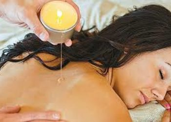 Relax in SPA  - hot candle massage