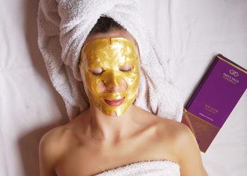 LOOK Salon Piękna - zabieg ze złotą maską