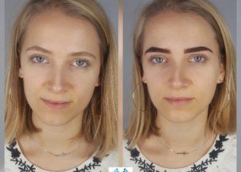 Podocare Gabinet Podologiczno - Kosmetologiczny mgr Paulina Przybyłek - henna pudrowa z geometrią i regulacją brwi