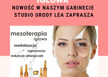 Studio Urody Lea - mezoterapia igłowa twarzy