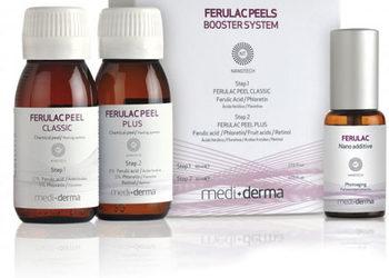 Velvet Skin Clinic - kwas ferulowy ferulac peel classic + c-peel + resveraderm mediderma