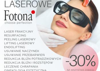 Velvet Skin Clinic - laserowe usuwanie naczyniaków fotona -30%