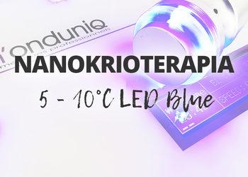ESTETICA Instytut M`onduniq - nanokrioterapia 5 - 10˚c led blue