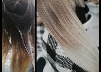 New Look Anna Omańska  - refleks  na nat.włosach