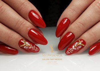 Lejdis Art Justyna Koziara - manicure kombinowany - hybryda