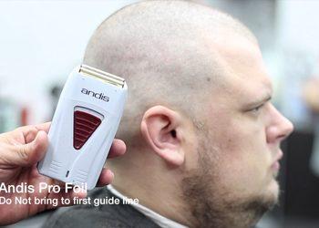 """""""OldMountain"""" BARBERSHOP - golenie głowy - maszynka"""