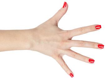 Turkusowe Cążki - manicure monofaza