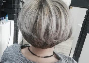 New Look Anna Omańska  - pasemka włosy krótkie