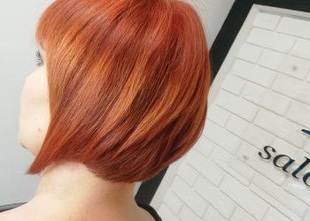 New Look Anna Omańska  - odrost farba włosy średnie