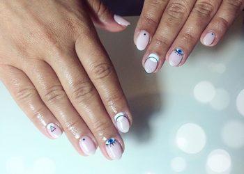 Mania - manicure hybrydowy +zdobienie/pyłek/ombre