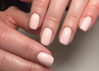 Turkusowe Cążki - manicure klasyczny