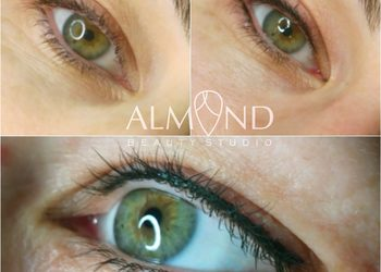 Almond beauty studio - classic eyeliner - kreska górna i dolna