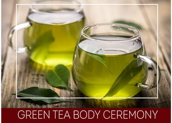 Olimpia Day SPA - green tea body ceremony  - delikatne odprężenie