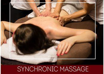Olimpia Day SPA - synchronic massage for four hands - synchroniczny masaż na cztery ręce
