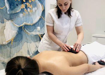 Instytut Urody Beauforia - masaż gorącymi kamieniami