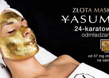 Yasumi Wilanow - złota maska - 24k gold mask treatment