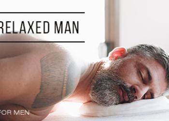 Yasumi Wilanow - relaxed man - relaks mięśni mimicznych