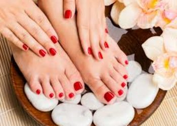 Relax in SPA  - manicure & pedicure hybrydowy spa