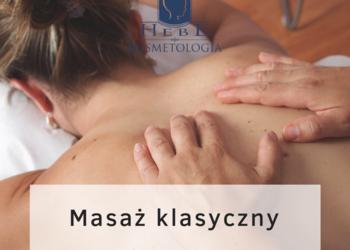 Gabinet Kosmetyki Profesjonalnej Hebe Aleksandra Tańska - masaż klasyczny