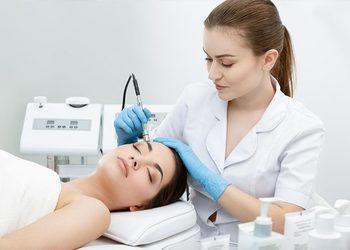 Salon fryzjerski kosmetyczny She & He - mikrodermabrazja diamentowa twarzy