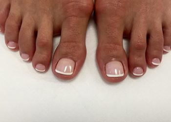 Happy & Beauty - pedicure hybrydowy french