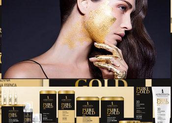 Duet Kosmetyczny - zabieg  z 24 karatowym złotem