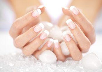 Salony fryzjerskie O'la - akryl - dłonie