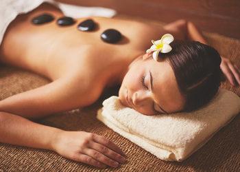 Zdrowy Masaż hotel Falko - masaż hot stone
