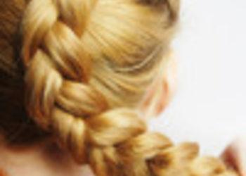 Salony fryzjerskie O'la - uplecenie warkocza bez mycia