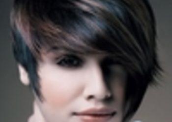Salony fryzjerskie O'la - koloryzacja z refleksami włosy krótkie