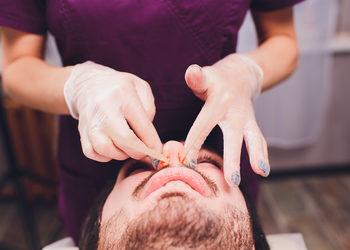 Centrum Kosmetologii Kirey - depilacja woskiem lycon - uszy/nos
