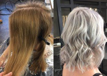 R. SMARZ Professional Hair - dekoloryzacja/metamorfoza z wykończona falami