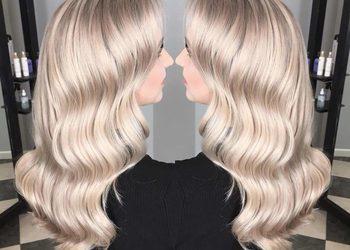 R. SMARZ Professional Hair - uzupełnienie odrostu i odświeżenie długości wykończona strzyżeniem i falami