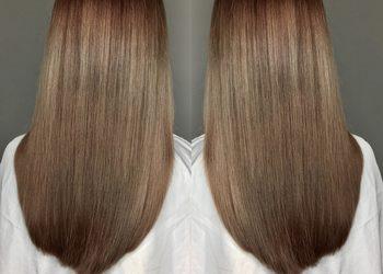 R. SMARZ Professional Hair - koloryzacja jednotonowa ze strzyżeniem