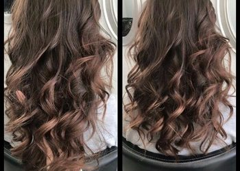 R. SMARZ Professional Hair - koloryzacja jednotonowa wykończona falami