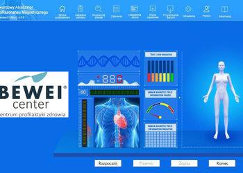 BEWEI CENTER centrum profilaktyki zdrowia - kwantowa bio-analiza stanu zdrowia (120 stron)