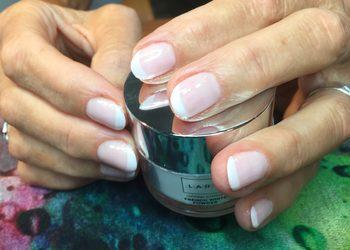 Duet Kosmetyczny - manicure tytanowy french