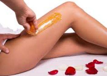 SCM estetic  - depilacja pastą - nogi