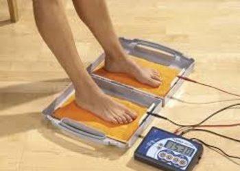 SCM estetic  - jonoforeza - leczenie nadpotliwości - stopy