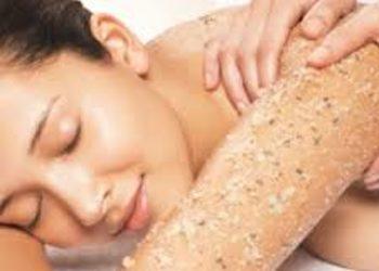SCM estetic  - sweet and savoury body scrub- słodko-słony peeling ciała z dodatkiem olejku pomarańczowego