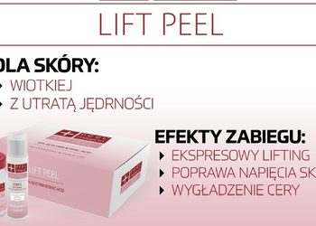 Face Academy Częstochowa - lift peel - expresowy lifting, zabieg bankietowy