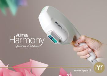 Gabinet Dermatologiczny - laser alma dvl- usuwanie rumienia- twarz, szyja, dekolt