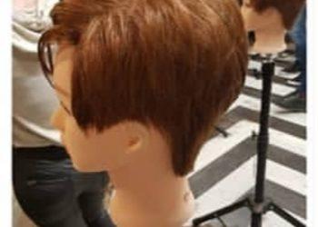 Fiore salon fryzjersko-kosmetyczny  - włosy krótkie strzyzenie z modelowaniem