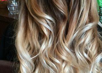 Salon fryzjerski For Hair Hotel Renaissance Airport Okęcie - koloryzacja z sombre/color,sombre,cut,blow dry