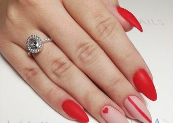 All4Nails - manicure hybrydowy ze zdobieniem