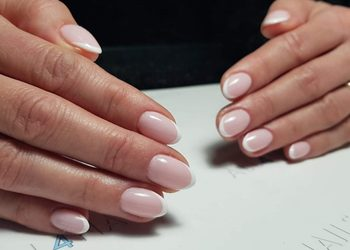All4Nails - manicure hybrydowy french/baby boomer/ombre