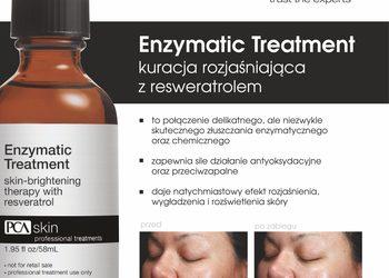 BEAUTY PREMIUM Kosmetologia Estetyczna - pca skin wiosenno-letni zabieg rozswietlająco-odżywczy enzymatic treatment + oxygenating trio