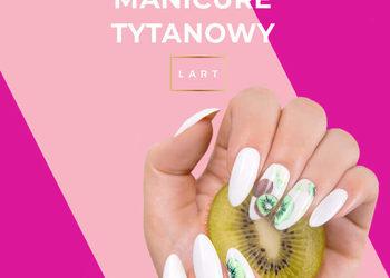 Centrum Venus - manicure tytanowy kolor